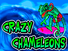 Игровой автомат Crazy Chameleons